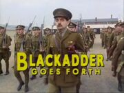 Blackadder Goes Forth Title Card