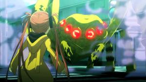 Enju faces Sumiaki