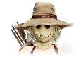 Event scarecrow mask