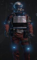 Dark Red Armor