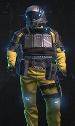 Metallic Gold Armor
