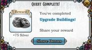 Quest Upgrade Buildings!-Rewards