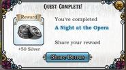 Quest A Night at the Opera-Rewards
