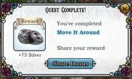 Quest Move It Around-Rewards