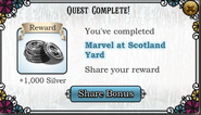 Quest Marvel at Scotland Yard complete