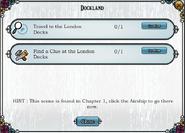 Quest Dockland-Tasks