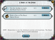 Quest A Night at the Opera-Tasks