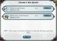 Quest Pralines in New Orleans-Tasks