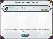 Quest Complete the London Collection-Tasks