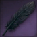 Black Rose Feather