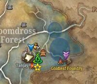 Sidequest gloomdross signed sealed delivered map