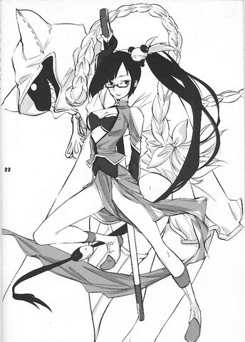 File:Litchi Faye-Ling, Taokaka (Official Comics vol. 1).jpg