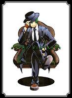 Hazama (Birthday Illustration, 2013)