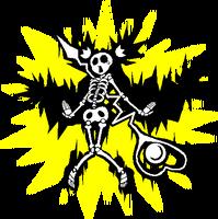 Platinum the Trinity (Sprite, electrocuted)