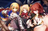 BlazBlue Chronophantasma Story Maniacs Material Collection II (Illustration, 1)