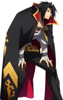 Kagura Mutsuki (Story Mode Artwork, Defeated)