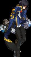 Hibiki Kohaku (Centralfiction, story mode artwork, defeated)
