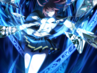 Celica A. Mercury (Centralfiction, arcade mode illustration, 3)