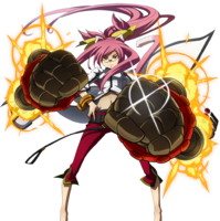 Kokonoe (Story Mode Artwork, Pre Battle)