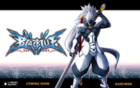 BlazBlue Battle Cards (Announcement of Hakumen)
