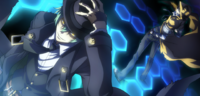 Hazama (Centralfiction, arcade mode illustration, 6)