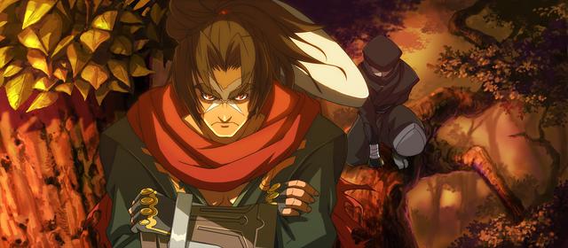 File:Bang Shishigami (Calamity Trigger, Arcade Mode Illustration, 1, Type A).png