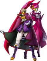 Relius Clover (Chronophantasma, Character Select Artwork)