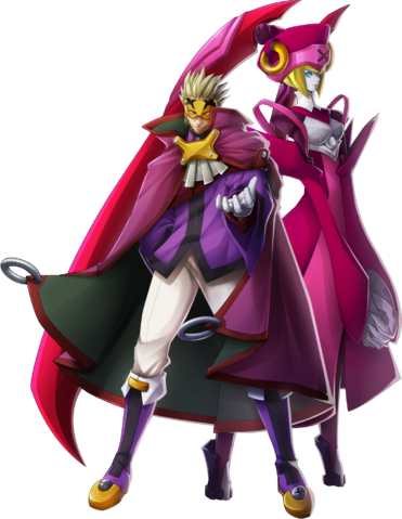 File:Relius Clover (Chronophantasma, Character Select Artwork).png