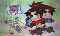Bang Shishigami (Clonephantasma, Story Mode Illustration)