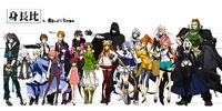 XBlaze Characters (Concept Artwork)