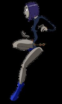 Teen titan raven by bbobsan-d6lv74p
