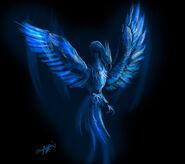 Blue Phoenix by TheGreatandMightyOz