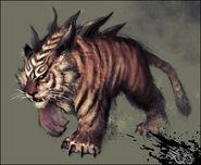 Bog tiger by ilison