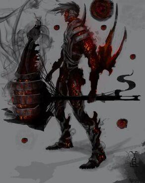 Hephaestus God of Fire Final by skechitYAS2