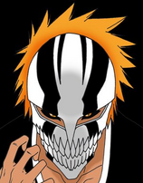 Masked Ichigo - New Hollow mask