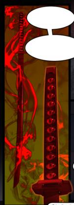Evil sword