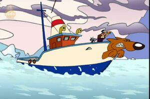 Antartic Adventure Ship