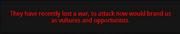Declare War! action 6