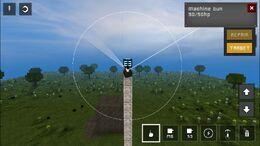 Machine Gun Firing Arc Vertical