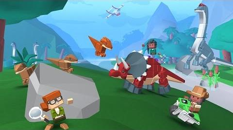 Blocksworld - Dinosaurs of Nakolia