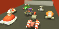 Blocksworld Characters Race V4!