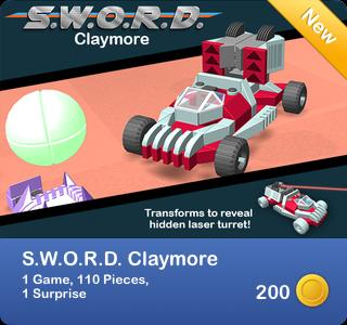 S.W.O.R.D. Claymore