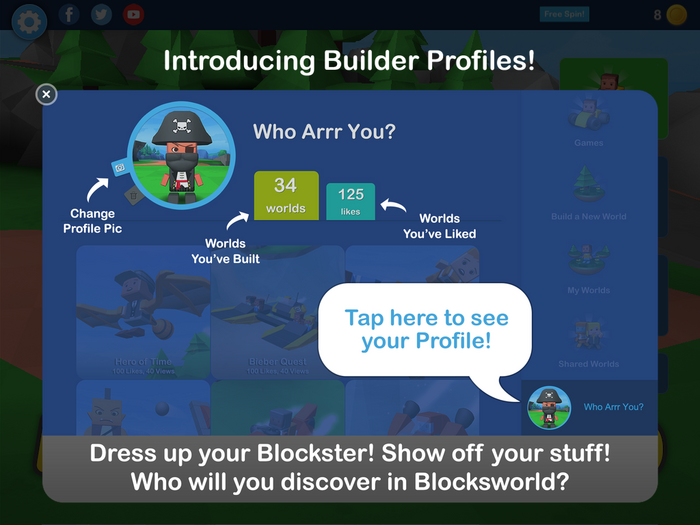 New Builder Profiles!
