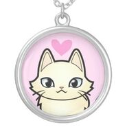 Design your own cartoon cat love hearts necklace-r597f171de6684a408487de40e4ac73b3 fkoez 8byvr 324
