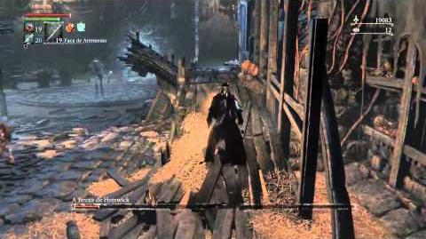 Bloodborne The Witch of Hemwick Boss