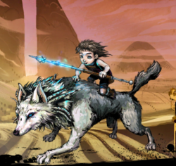Baelwood, the Young Wolf Image