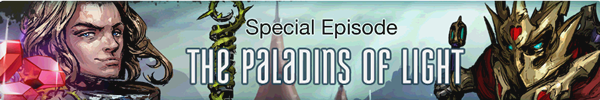 The Paladins Of Light Banner