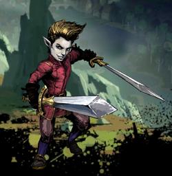 Attis, The Flashing Blade Image