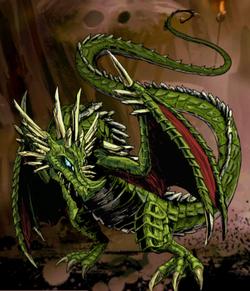 Xeran, Crystal Dragon Image