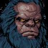 Ape Swordsman Face